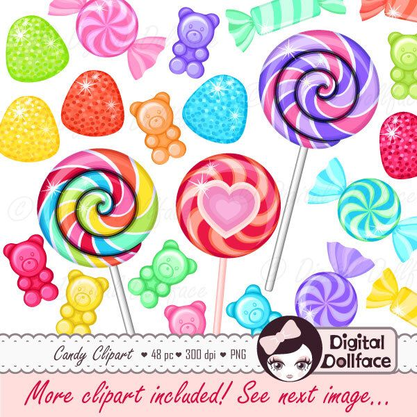 Sweets clipart candy Shop Gummy Pinterest Candy Sweets