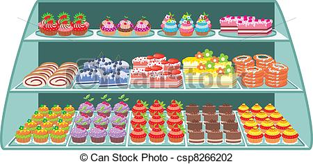 Sweets clipart candy store Csp8266202 Search Sweet Sweet shop