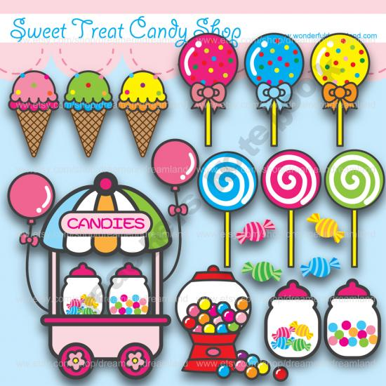 Sweets clipart candy store  Cakes) Clip Shop Clip