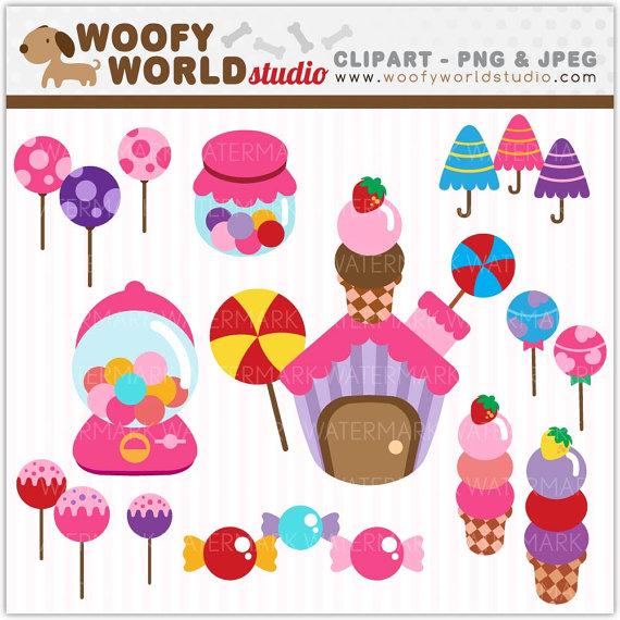 Candy Bar clipart candyland Land  Treats Lollipop art