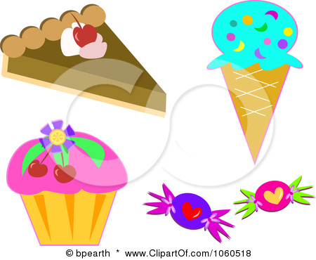 Sweets clipart collage Clip by Of Collage a