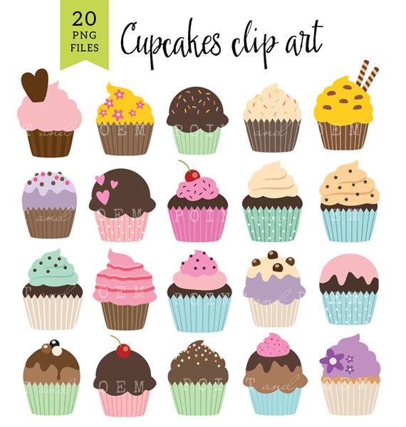 Cake clipart dessert Use clipart Clip Etsy 'BIRTHDAY