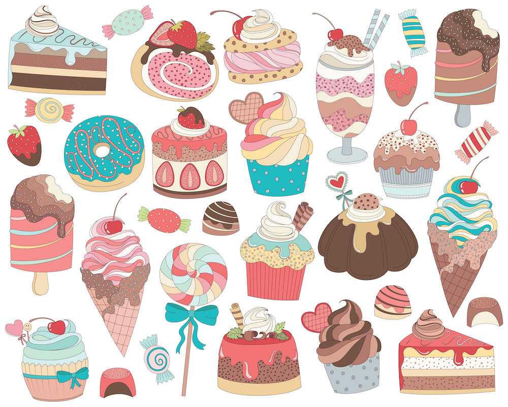Candy clipart drawn And Clip & Sweets a