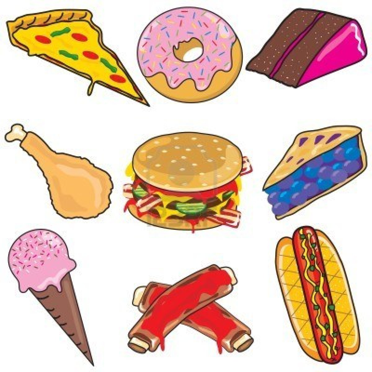 Food clipart favourite food #3