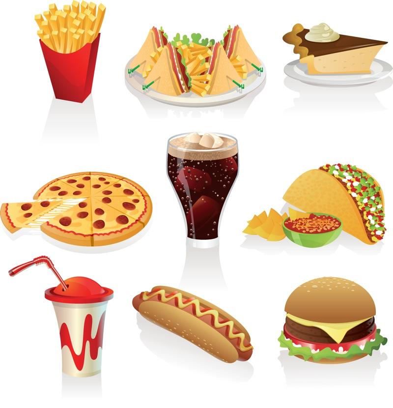 Muffin clipart junk food Vector clipart Downloads Vector Clip