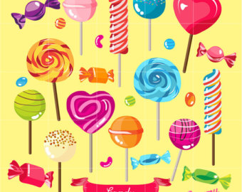 Sweets clipart food item Candy Digital treat / Candy
