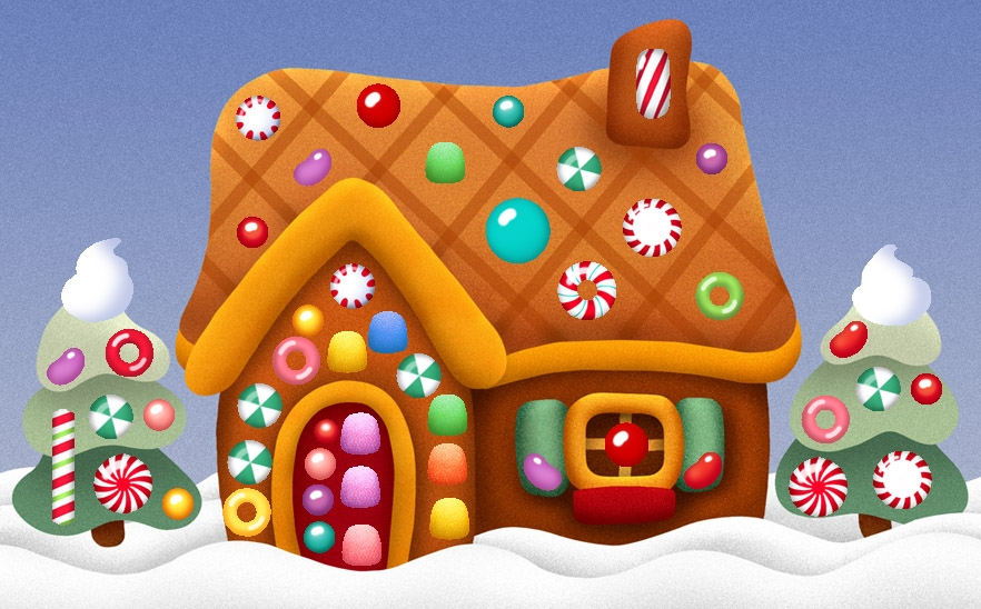Hosue clipart hansel and gretel House Candy Cliparts Clipart Gingerbread