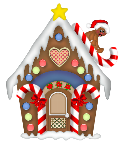 Candy Cane clipart gingerbread house candy Gingerbread clipart Art ClipArt house