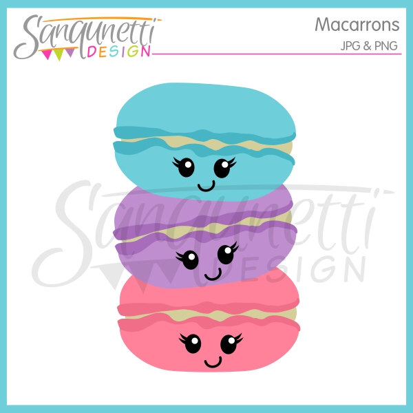 Sweets clipart kawaii Bakery Clipart Clipart Clipart Macaroon