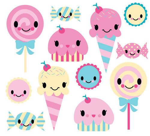 Sweets clipart kawaii Wallpapers and 4 92 Page