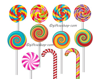 Sweets clipart lolipop Pictures Candy of land Digital