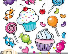 Sweets clipart lolipop Shop Pin for Yellow art