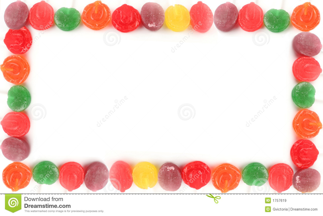Sweets clipart lolipop Candy Clipart Borders  Lollipop