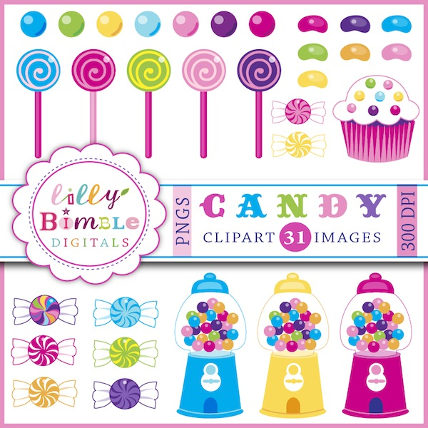 Bean clipart jello Candy including gumballs gumball Clipart