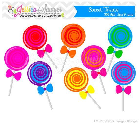 Candy clipart lollipop Lollipop INSTANT clip 00 $3
