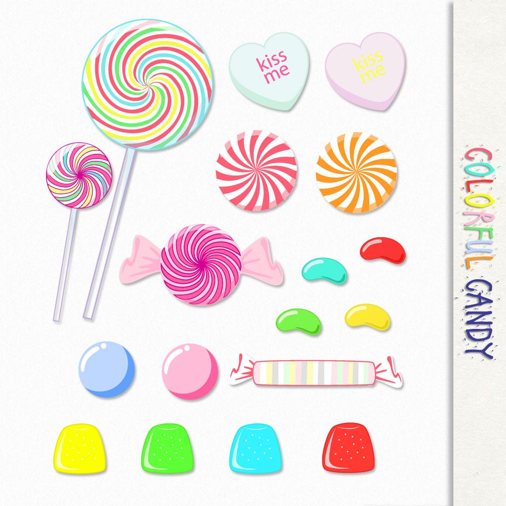 Candy clipart lolly Lolly Scrapbook pop Candy Graphic