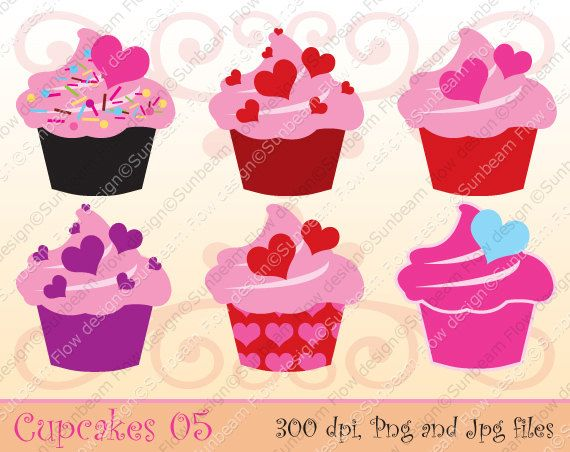 Sweets clipart mini cupcake Cupcakes Sweet cakes Happy II