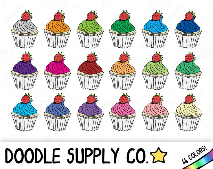 Sweets clipart mini cupcake Pinterest Bakery Baking clipart ideas