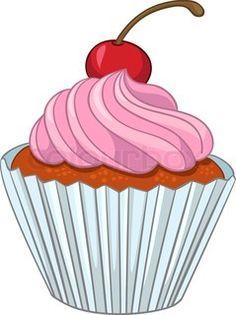 Sweets clipart mini cupcake Google com Leoni  Pesquisa