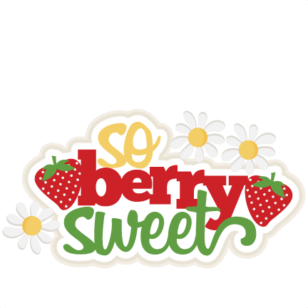 Berry clipart cute Files Sweet svg Sweet