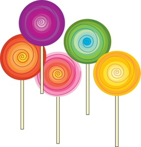Sweets clipart swirl lollipop Swirl 5 with image clipart