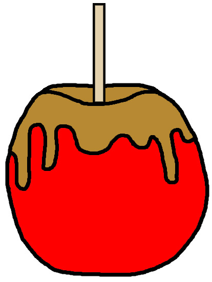Caramel clipart candy apple Of Clipart candy 56 com