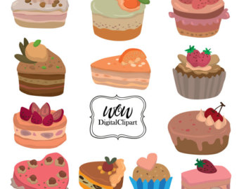 Baking clipart sweet treat Cream Desserts ice Cake Card