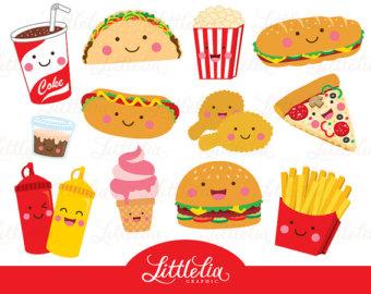 Pizza clipart junk food Best Art Clip Cute CeliaLauDesigns