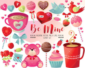 Sweets clipart valentine's day And Valentine's Clipart Day balloons