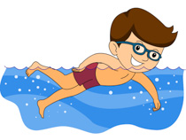 Swimming clipart Swimming art Clipart Swimming graphics