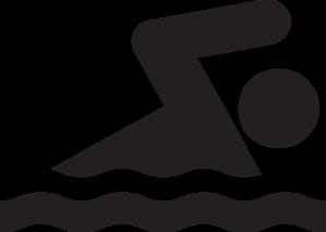 Diving clipart stick figure Clip Swimmer Stick Swimmer Art