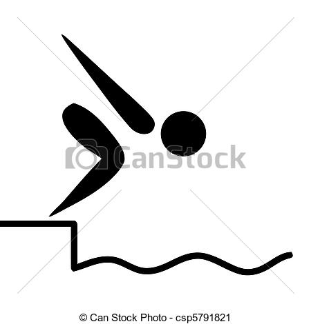 Diving clipart animated Free Illustrations Swimming swiming 43