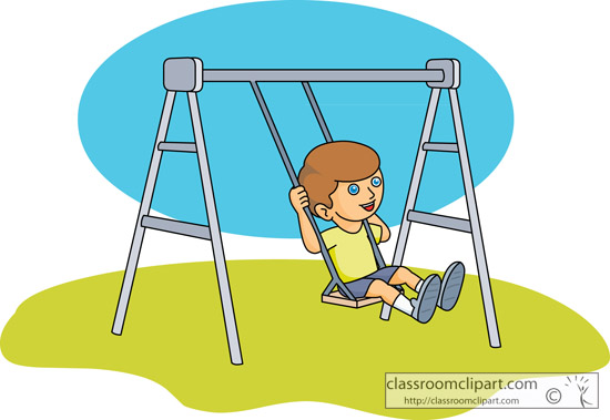 Swing clipart Playground swing clipart WikiClipArt swing