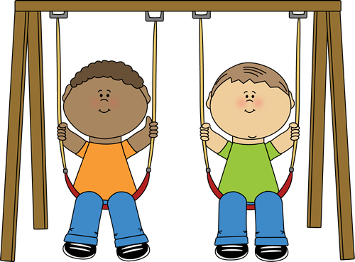 Swing clipart kid happy Image swinging Art Art Image