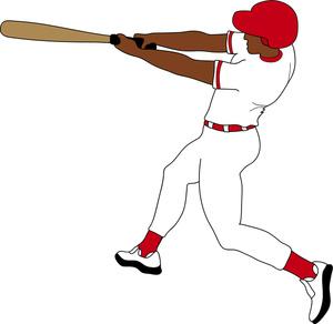 Swing clipart baseball bat Clipart catcher clipart free images