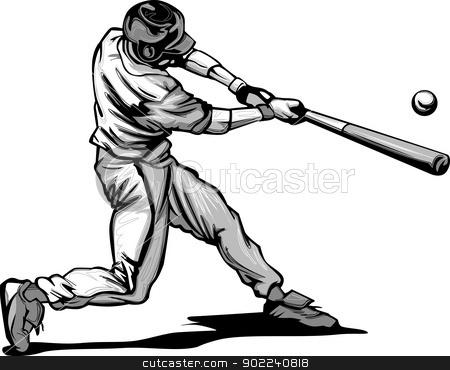 Swing clipart baseball bat Swing Clipart Swing Baseball Clipart