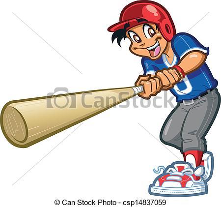 Swing clipart baseball bat Vector csp14837059 Bat Clipart of