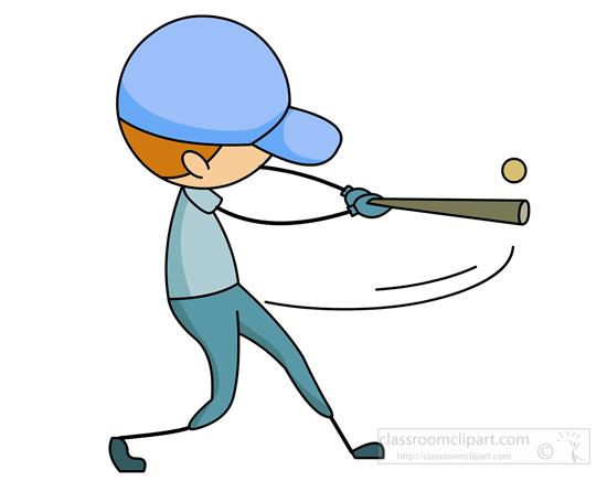 Swing clipart baseball bat Baseball with baseball a hitting