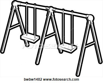 Swing clipart black and white White Art Clip Clipart Sewing