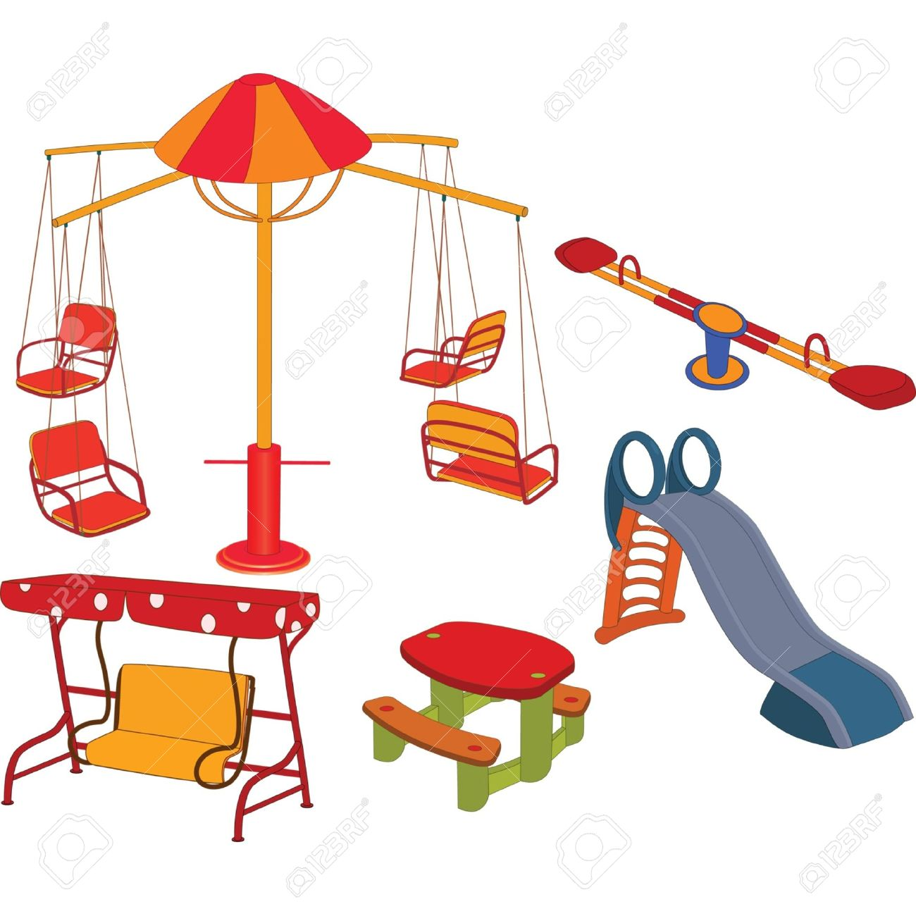 Cartoon clipart playground Free Carousel carousel%20clipart Clipart Clipart