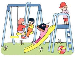 Swing clipart indoor recess Clip Indoor recess art