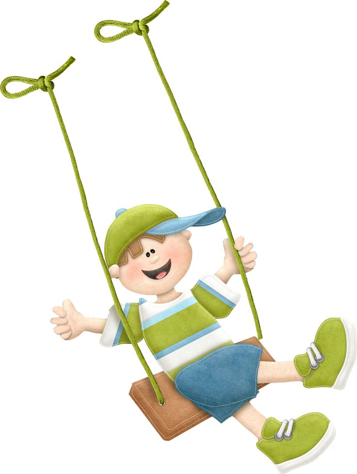 Swing clipart kid happy On best images Minus by