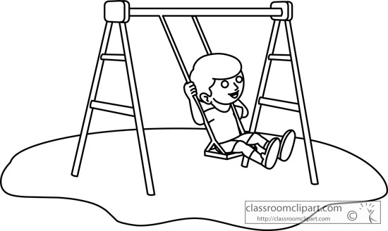 Playground clipart black and white Graphics Clipartme Vector Clip art