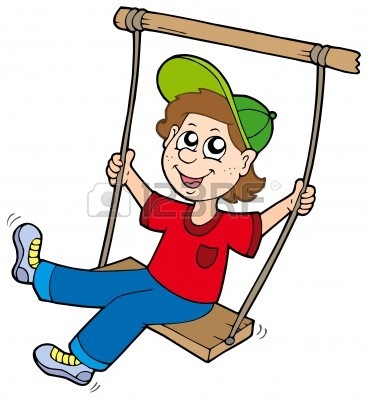 Swing clipart rope swing Boy Clipart swing Free Images