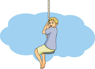 Swing clipart rope swing 51 for playground From: Results