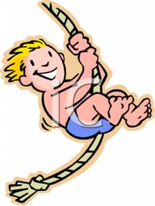 Swing clipart rope swing Royalty Royalty Boy Clipart on