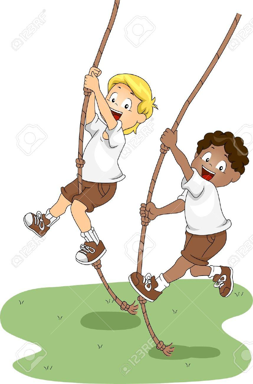 Swing clipart rope swing (6156) Broken Clipart Clipartwork Rope