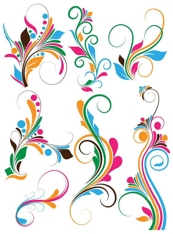 Photoshop clipart design background Swirly Cliparts Art Clip Banner