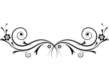 Scroll clipart swirls Art Clipartix swirls Flourishes Clip