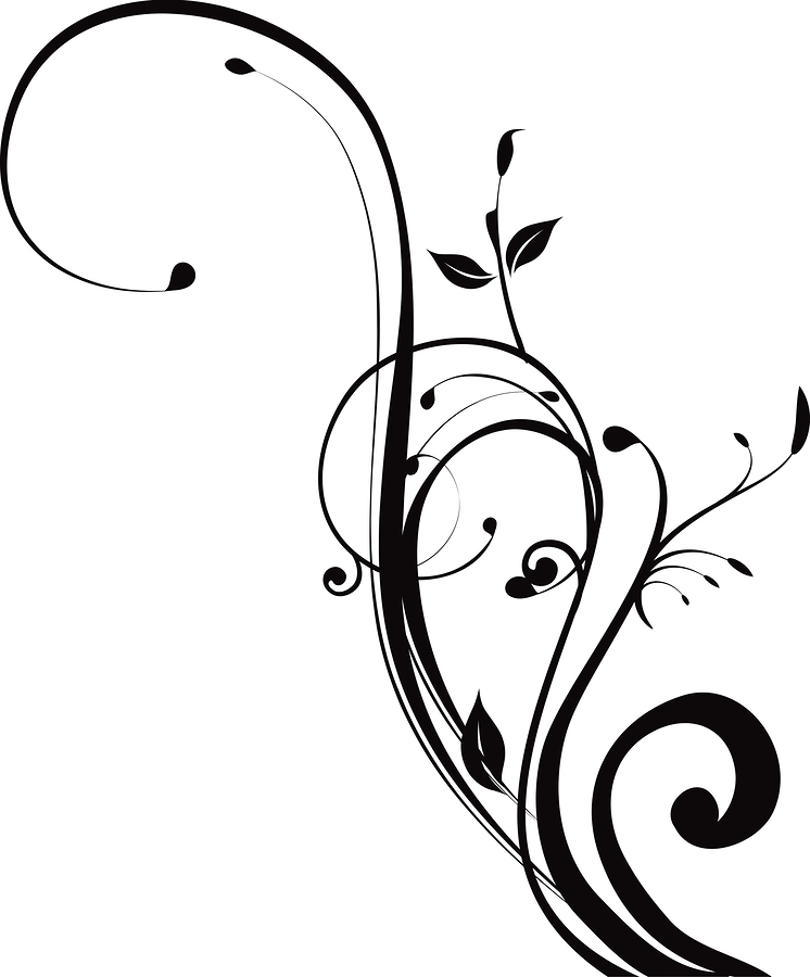 Swirl clipart black and white Download Covers Free Ready Swirl